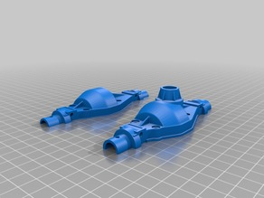 TAMIYA DIFFS HOUSING FOR AXIAL KNUCKLES FRONT OR REAR