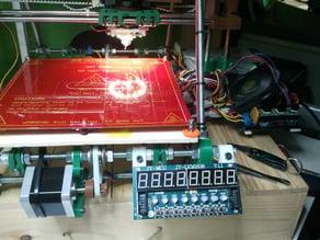 TM1638 module mount for Prusa Mendel