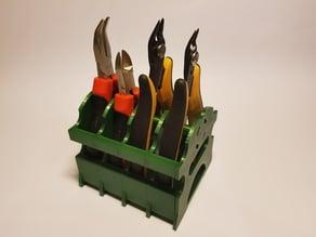 Plier tools modular desktop stand