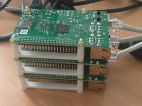 Minimalist Raspberry Pi stackable mount