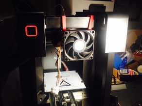 Easy way to cool down stepper motor up mini