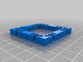 Improved OpenForge 2.0 Magnetic base. 2x2 tile