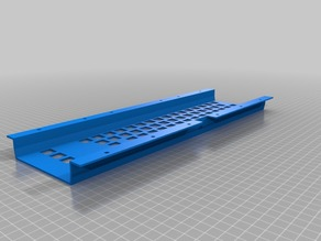 C64/VIC20 keyboard frame for Cherry MX switches