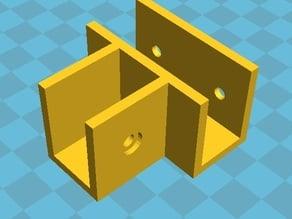 3D Desk - Moidules Remix for 16mm cardboard