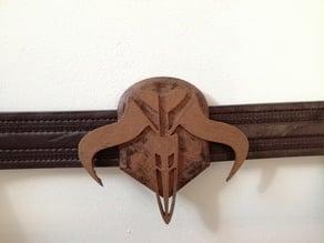 True Mandalorian Logo for Belt