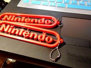 Nintendo Logo Keychain