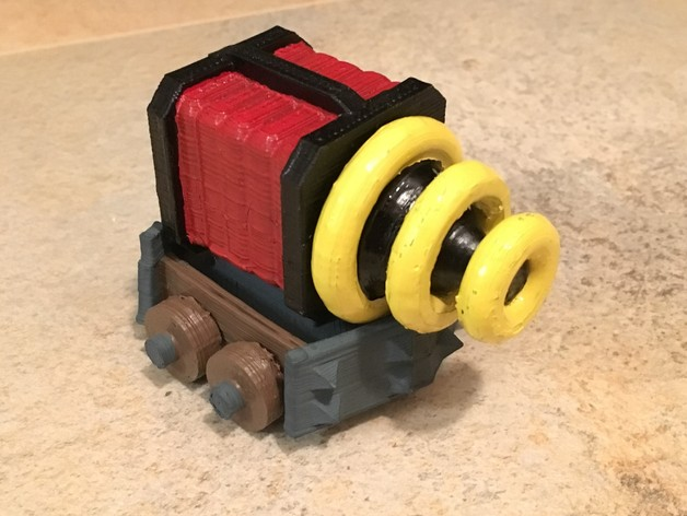 Clash Royale Sparky by stunner2211 - Thingiverse