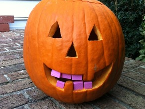 Pumpkin Tooth Replacement Project