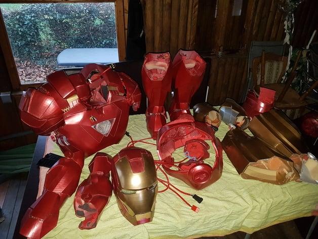 3 Ways to Make an Iron Man Mask - wikiHow | 472x628