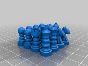 Micro-Chess Pieces
