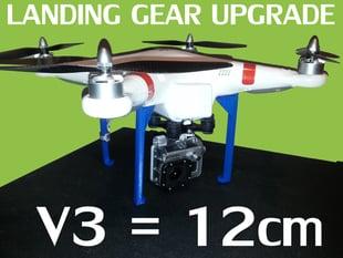 V3 DJI Phantom Landing Gear BUSTMOLD LEGS 12cm