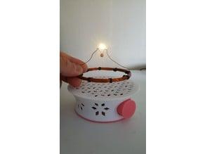 Wireless LED Lamp Base
