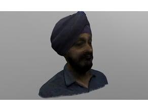 3D Scan of Harjot Shah Singh