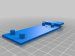 Simple Prusa i3 (hephestos) mount for Airtripper's Bowden Extruder