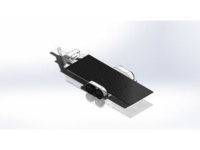 1:10 rc drop deck trailer