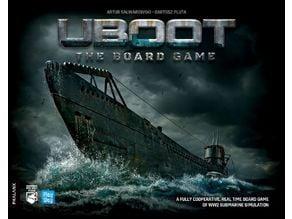 Uboot boardgame organizer