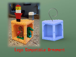 Lego Compatible Ornament