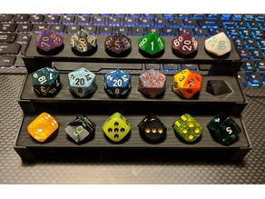 Modular Dice Display Shelves