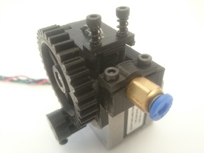 Kuro´s Compact Extruder for the Diamond Hotend