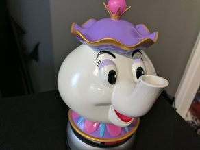 Mrs Potts Container! [Beauty and the Beast]
