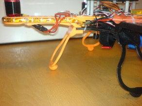 "Flexible Landing Gear for Quadcopter ""Crossfire"" [deprecated]"