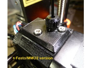 Prusa MK2.5/MK3 Filament Sensor Cover Upgrade