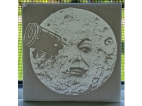 Moon Face Lithophane