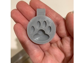Cat Paw Charm