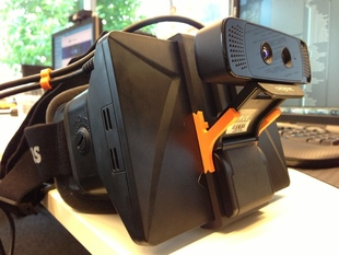 3D Camera mount for Oculus Rift (dev kit)