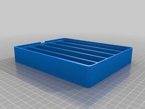 5 Row Dice Box