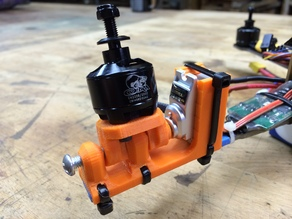 All-in-One Tricopter Tilt Motor Mount