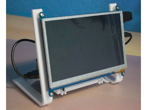 Waveshare 7 inch LCD display stand / small computer holder