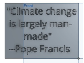 Pope Francis Global Warming