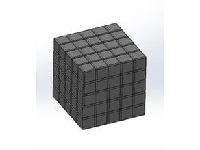 5 X 5 Rubik's Cube