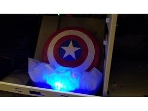Captain America 120mm Mount Case Light