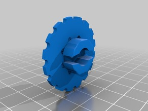 Anet A8 large leveling knobs - 2018 version for larger wingnuts