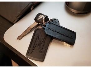 Kawasaki Z keychain
