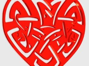 Heart Celtic Pendant