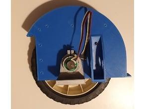 Robot Lawn Mower (Rear Motors with encoders)