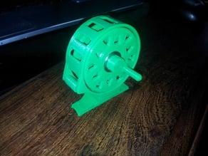 Micro-Reel imprimible en 3D - Micro-Reel printable 3D
