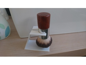 Brushmount for a cosmetic brush