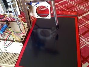 Printr Egg Boogie Board Bot