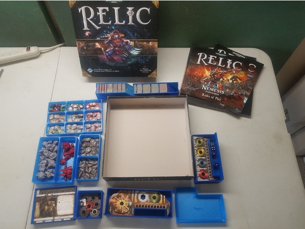 Relic + Nemesis Game Box Organizer by Dracx_SP - Thingiverse