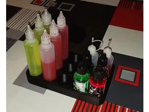 VAPE - Plateau pour 50mL E-liquide / eLiquid bottles Tray