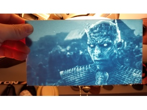 Night King Lithophane