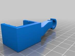 Tube and cable guide bracket for cupboards