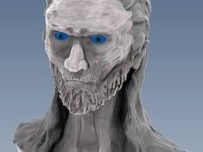 White Walker bust.