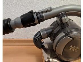 Vacuum cleaner adapter Black+Decker / Siemens