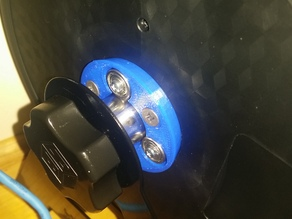 Spool Roller for Hatchbox Tabletop Wall Mount Rack