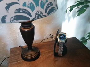 Parametric LG Android Wear Watch Charger Stand